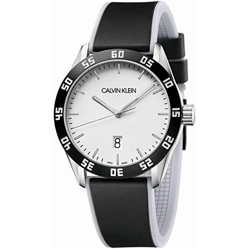 Calvin Klein Compete K9R31CD6 Reloj de Pulsera para Hombres