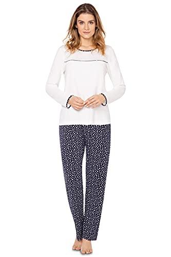 e.FEMME Damen Schlafanzug Nicole 148 aus...