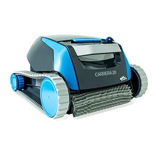 Dolphin Carrera 20 - Robot limpiafondos para piscinas (fondo y...