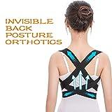 Fine Invisible Posture Corrector, Scoliosis Humpback Correction Belt, Adjustable Comfort Invisible...