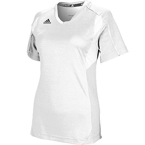 adidas Mujer Climalite Camiseta de Utilidad - Multi - XL