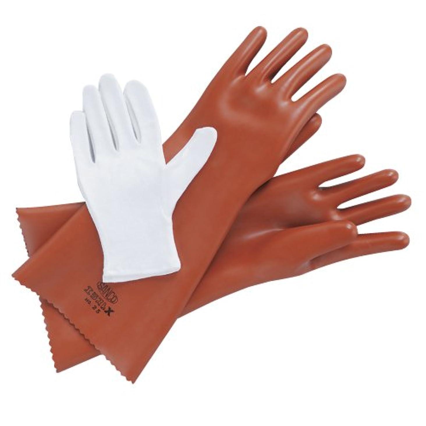 セマフォ定規電気エラストX手袋 EX-25