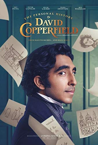 linbindeshoop The Personal History of David Copperfield Armando Iannucci Movie Wall Poster Art Decor Sticker Bright(LY-1462) 40x60cm No frame