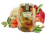 Luccini Conserva de Verduras en Aceite, 720 gr - conservas y encurtidos Mostarde