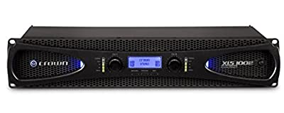 Crown XLS1002 Two-channel, 350W at 4? Power Amplifier from Crown