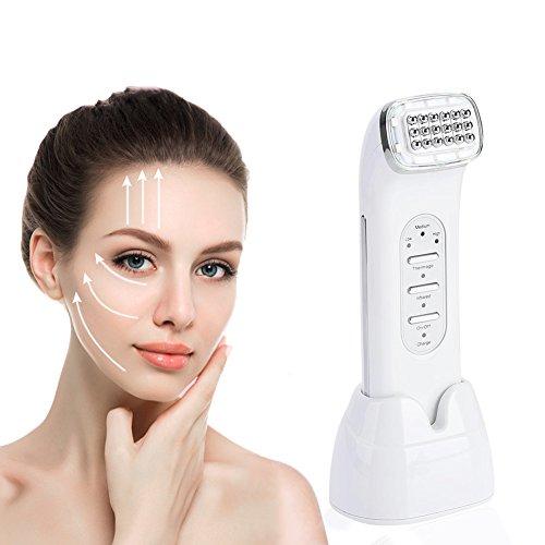 RF Gesichtsmaschine, LED Radio Frequenz Face Lifting Straffung Verjüngung Falten entfernen Haut Schönheit Maschine