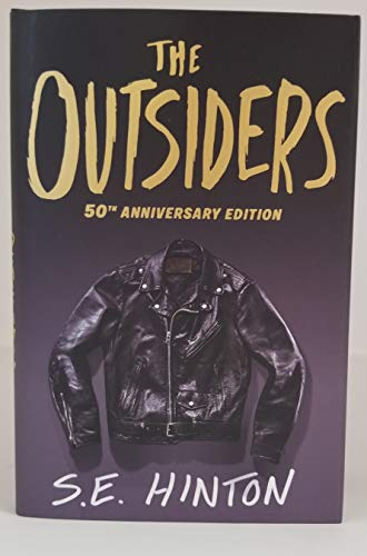 THE OUTSIDERS signed by S.E. HINTON (Hardcover) Book 50th Anniversary Edition autographed