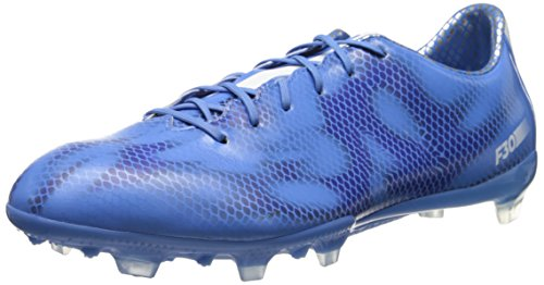 Adidas Performance Women's F30 Firm-Ground W Soccer Cleat, Lucky Blue/Running White/Night Flash, 7 M US