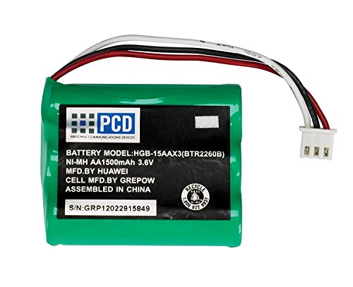 OEM Manufactured Standard Battery (1500 mAh, NI-MH) for Huawei Home Phone Connect
