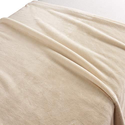 無印良品『あたたかファイバー厚手毛布』