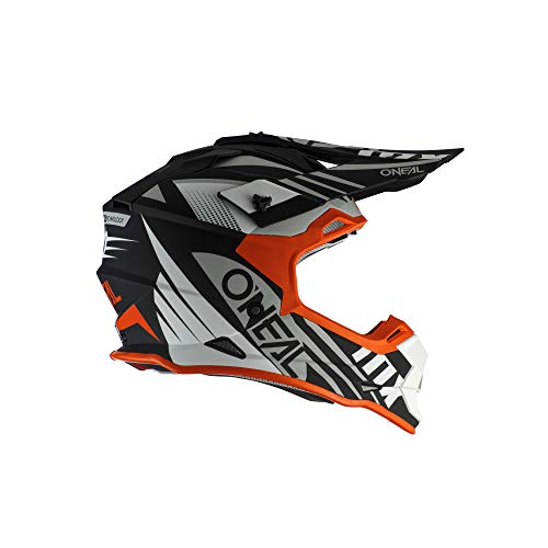 2SRS Helmet SPYDE 2.0 black/white/orange L (59/60cm)
