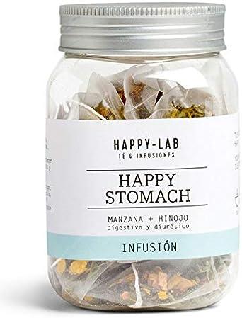 Happy-Lab Happy Stomach Té Infusión - 14 pirámides