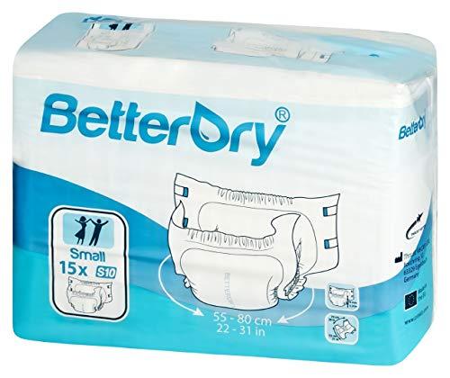 BETTERDRY Inkontinenz-Slip S10 15 St
