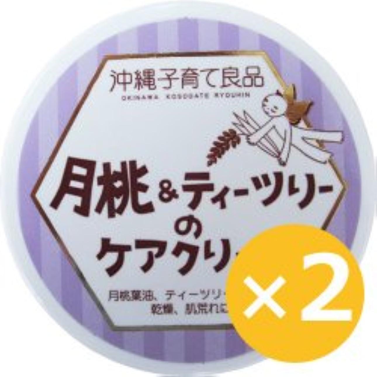 実質的に牛肉断言する月桃&ティーツリークリーム 25g×2