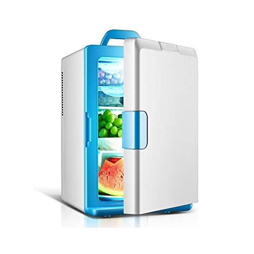 ZSEFV 18L Fridge Electric Cooler and Warmer Portable Cooler and Warmer for Cars, Homes, Offices, and Dorms