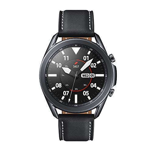 Samsung Galaxy Watch3 - Smartwatch de 45mm I Bluetooth I Reloj inteligente Color Negro I Acero [Versión española]