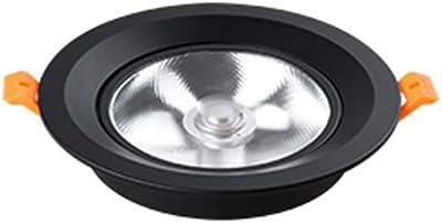 GLBS 3W/5W/7W/10W/12W/15W Ultra-Mince incorporé Ajustable ménage éclairage intérieur COB éclairage Panneau de Plafond de Cuisine lumière Commerciale Ronde a mené l'éclairage Downlight Rotatif