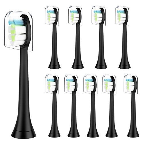 Cabezal de cepillo de dientes eléctrico para Philips Sonicare, Jooheli paquete de...