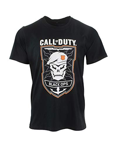 Numskull Call of Duty Black Ops 4 Black Ops Rubber T-Shirt M