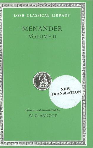 Menander, M: Heros. Theophoroumene. Karchedonios. Kithariste (Loeb Classical Library, Band 2)