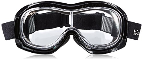 Pacific Coast Airfoil Padded 'Fit Over Glasses' Riding Goggles (Black...