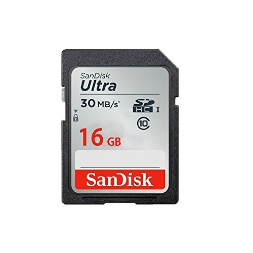 SanDisk Ultra 16GB SDHC Class 10 UHS-1 Flash Memory Card Speed Up To 30MB s- SDSDU-016G-U46 (Label May Change) [Old Version]