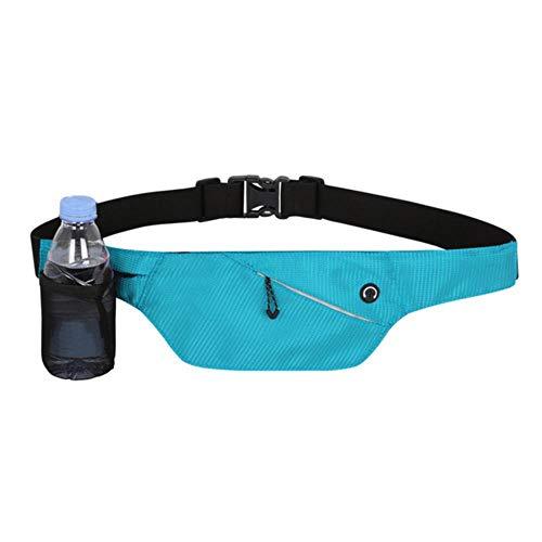 Bolsillos Deportivos Moda Bolsillos ultrafinos Botella para teléfono móvil con Bolsillos Mujeres Hombres Correr al Aire Libre, Lago Azul