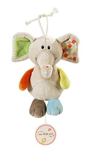 Nici 39718 Spieluhr Elefant Dundi, 18 cm