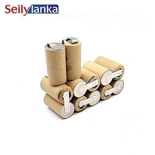 Seilylanka 3000mAh para herramientas Alpha 14.4V Ni MH Batería CD Power Pack ASE 14.4 ASE14.4 para autoinstalación