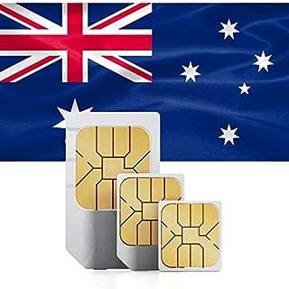 Australian and New Zealand Prepaid Data Sim Card 5GB for 30 Days in 71 Countries 3G Nano/Micro/Standard