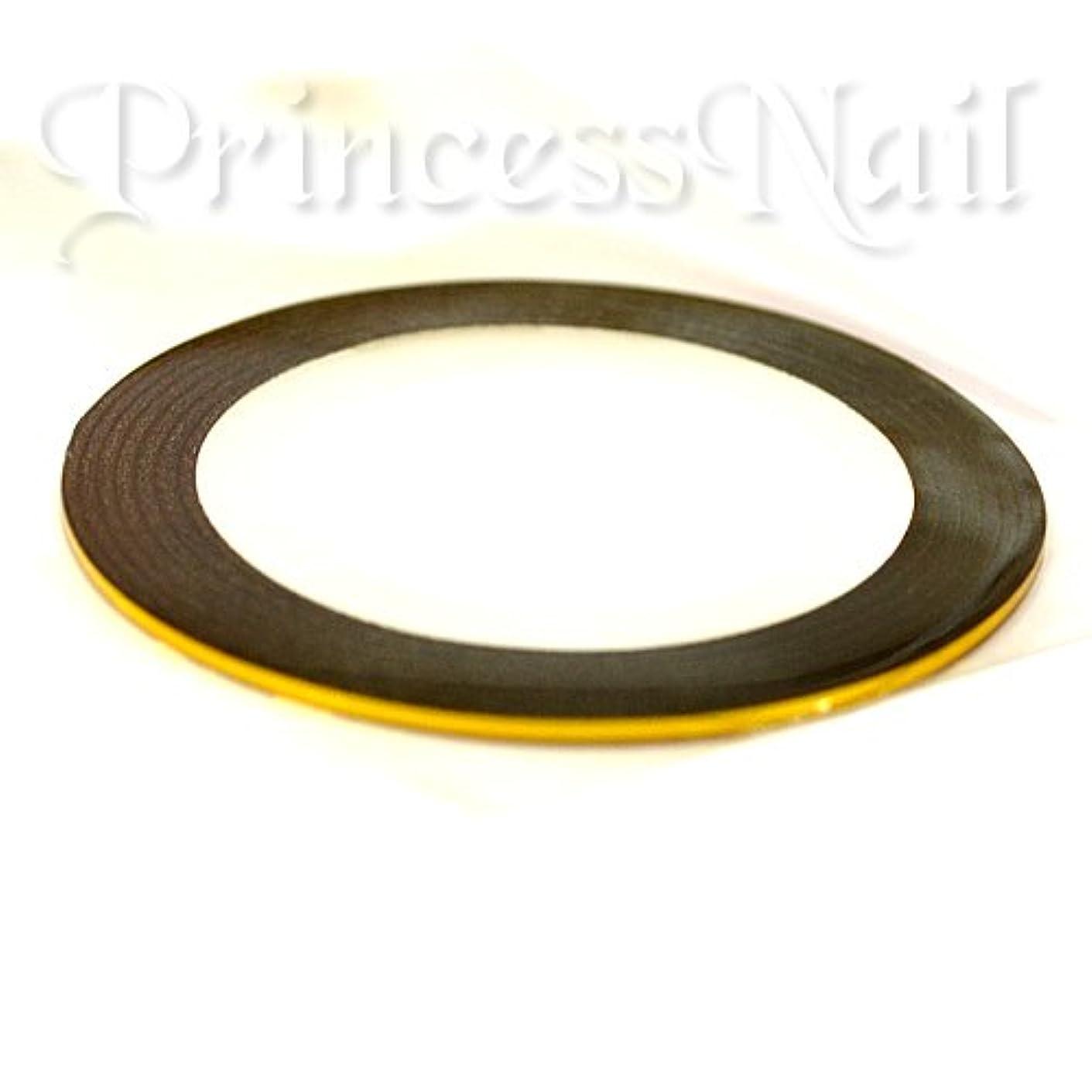 パッケージインフラ災害ラインテープ ゴールド(gold)幅1ミリ×長さ18メートルのラインシール
