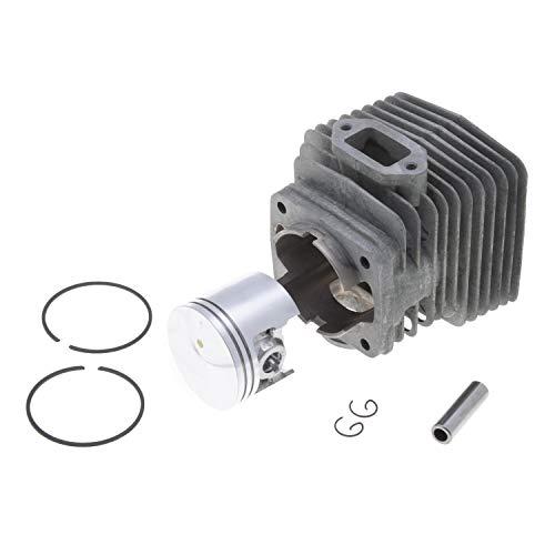 Jardiaffaires - Kit de cilindro de pistón completo adaptable para desbrozadora Stihl FS420 de diámetro 46 mm