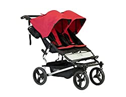 Double Stroller with one Car Seat