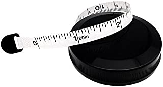 Tape Measure Measuring Tape for Body Cloth Measuring Tape for Sewing Tailor Fabric Measuring Tape (Retractable White)
