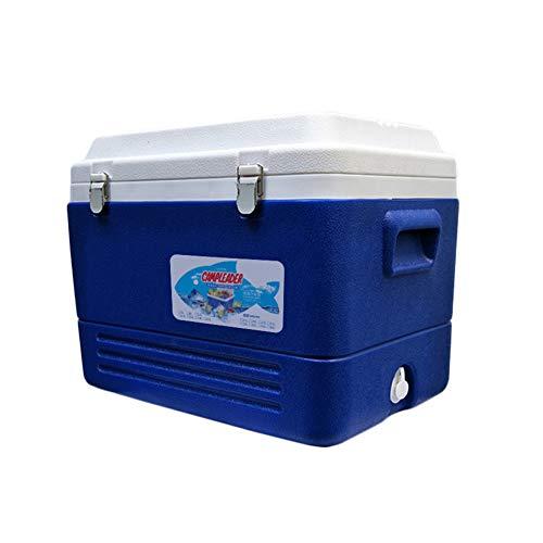 Ldbx Camping Kühlschrank Kühlbox Zum Warmhalten Und Kühlen Thermo-Elektrische 12 Volt Und 230 Volt Mini-Kühlschrank Thermobox Für Auto