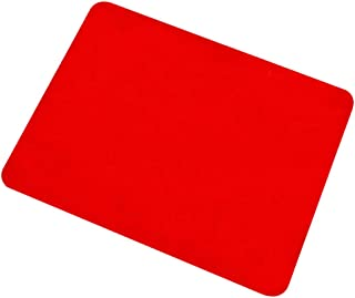 Berocia Professional Card Mat Poker Pad Magic Props, Close-up Pad with Thicked Exquisite Velvet Surface (Red 16.512.5 inch)
