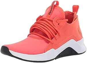 Reebok Women's GURESU 2.0 Dance Shoe, Vivid Orange/Black/White, 9.5 M US
