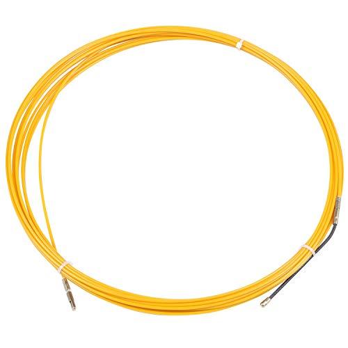 Growment 10 M 3 Mm FüHrungs Vorrichtung Fiber Glas Elektro Kabel DrüCken Abzieher Rohr Schlange Rodder Fisch Band Draht