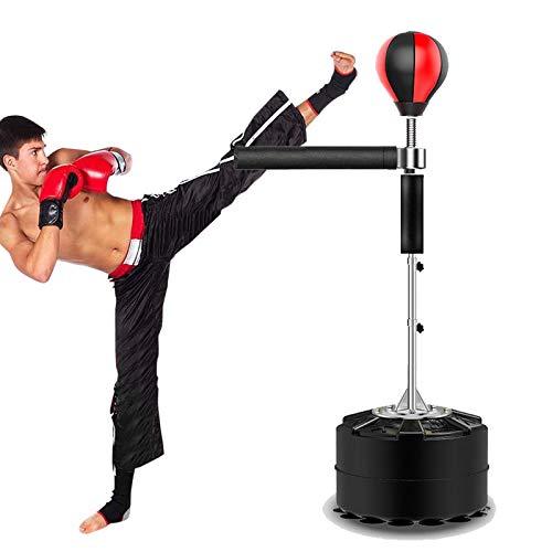 HNWTKJ Saco De Boxeo De Pie, Punching Ball, Peso Ligero Y Tamaño Pequeño, Fácil De Almacenar para Adolescentes, Adultos O Personas Que Necesitan Aliviar El Estrés (Size : 8 Suction Cup Base)