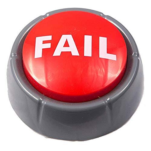 Epic Fail Button | Sad Trombone Sound Effect Button (Batteries Included)