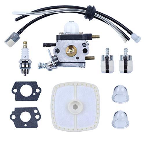 Haishine Vergaser Kraftstoff Luftfilter Leitung Primer Bulb Kit für Zama C1U-K54A Mantis Pinne 7222 Echo 12520013123 2-Cycle Tiller Cultivator