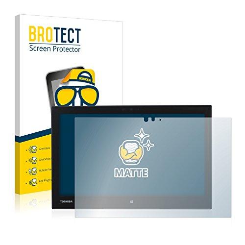 BROTECT Entspiegelungs-Schutzfolie kompatibel mit Toshiba Portege Z20T-C-13Q Bildschirmschutz-Folie Matt, Anti-Reflex, Anti-Fingerprint