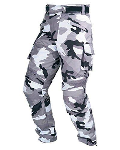 Juicy Trendz® Herren Motorradhose Textil Bikerhose Motorrad wasserdichte Pants mit Protektoren