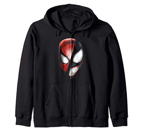 Marvel Venom & Spider-Man Rivals Face Mask Sudadera con Capucha