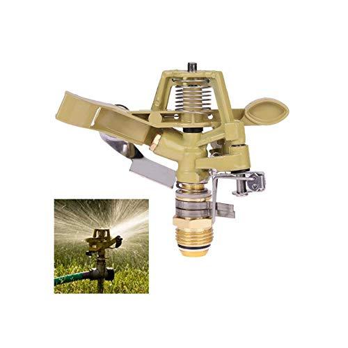 VIEI 1,27 cm Kupfer rotierender Wassersprinkler Sprühdüse Anschluss Wipparm Garten Bewässerung Brunnen Bewässerungssystem Gartenwerkzeuge