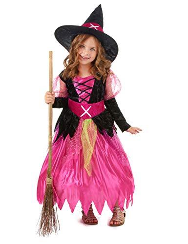 Generique Déguisement sorcière Fille Halloween 11 à 14 Ans
