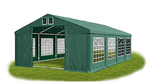 La Company - Tienda de campaña para fiestas (5 x 8 m, resistente al agua, con marco de suelo, 560 g/m², lona de PVC, sólida, para jardín, Summer Floor SD)