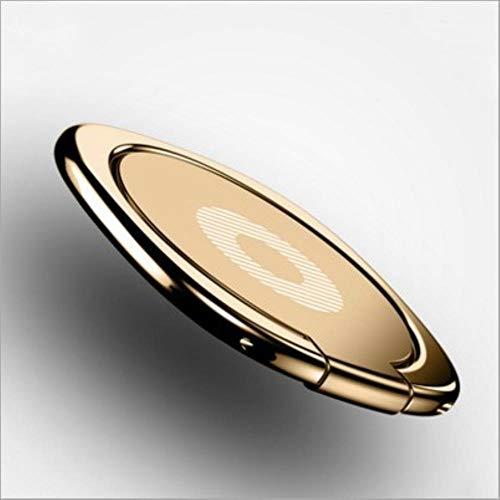 TTZY Mini DashboardHolder Imán Soporte magnético para teléfono móvil Universal para iPhone Samsung Xiaomi Soporte de Soporte GPS, Gold-C