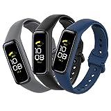 Mijobs [3 Piezas Compatible para Samsung Galaxy Fit 2 Correas, Correas Samsung Galaxy Fit 2 Reemplaz...