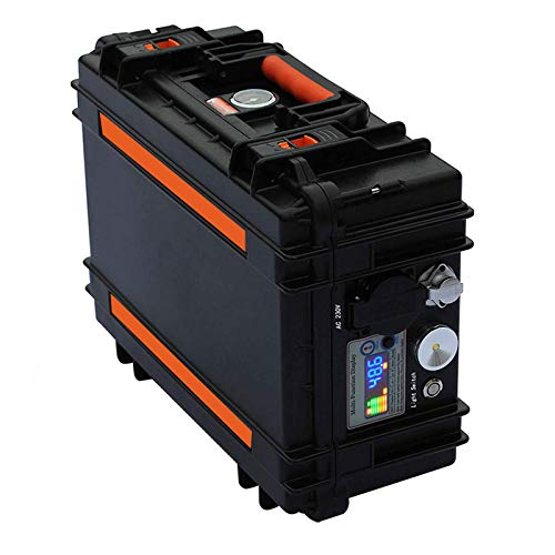 N/Z Inicio Equipos Central eléctrica portátil de 2000W Generador Solar de 2880Wh / 60Ah con tomacorrientes de 110V / 220V AC 12V / 24V DC QC3.0 USB Linterna LED